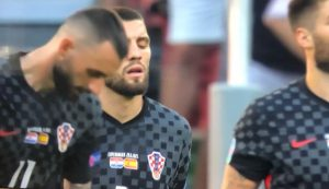 Croatia plays Euros with wrong coat of arms on shirt, HNS apologises