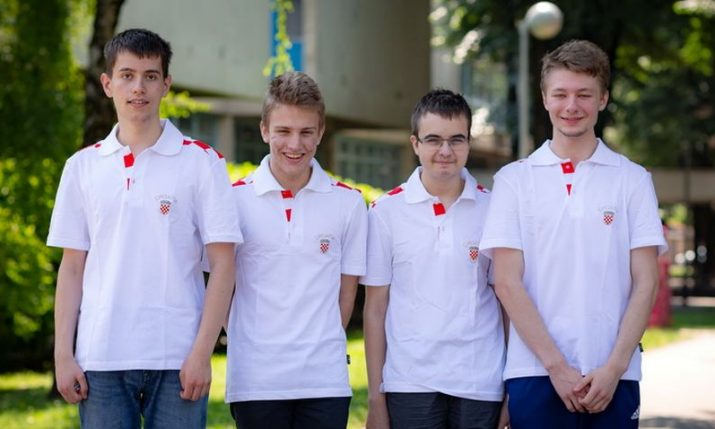 Big success for Croatia at International Olympiad in Informatics – 2 gold, silver and bronze medal
