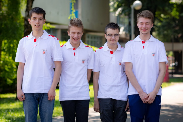 Croatia wins two golds, a silver and a bronze medal at International Olympiad in Informatics