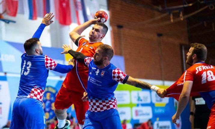 Croatia beats Serbia at European Deaf Handball Championship