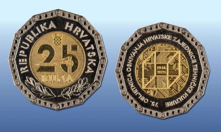 New commemorative HRK 25 coin released into circulation