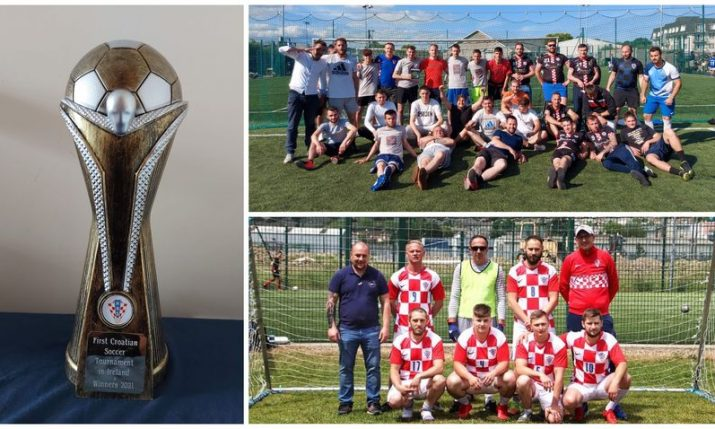 VIDEO: First Croatian soccer tournament in Ireland held