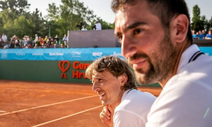 Marin Čilić to gather famous Croatians for charity tennis event 'Game Set Croatia'
