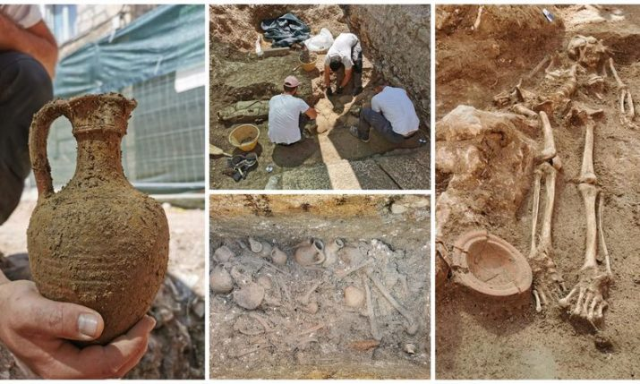 Archaeological sensation on Hvar: Necropolis from late antiquity period discovered