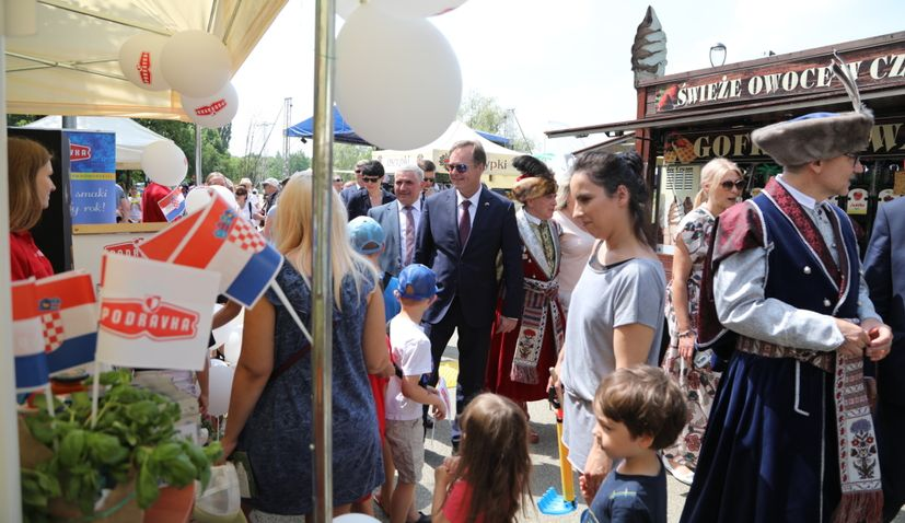 Little Croatia officially opened in Poland