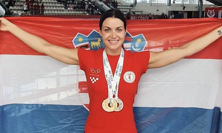 Croatian freediver Mirela Kardašević wins gold and two silver at World Championships