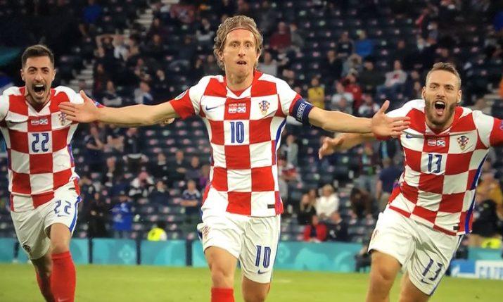 Euro 2020: Croatia reaches last 16 after beating Scotland