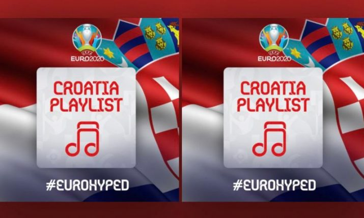 Official Croatia music playlist for Euro 2020 on Spotify