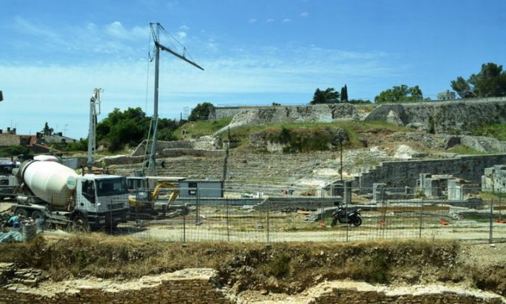 Works start on Small Roman Theatre in Pula