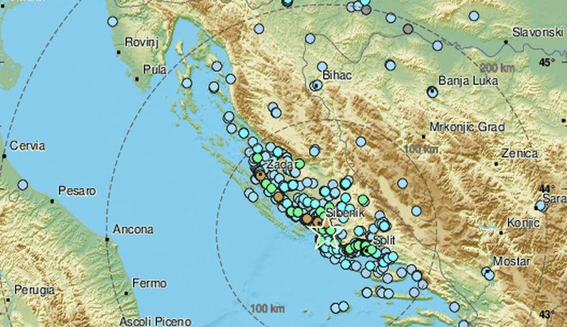 4.7 magnitude earthquake hits Sibenik on croatian coast