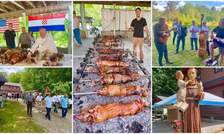 VIDEO: Croatians in America celebrate Sveti Ante with biggest picnic on the East Coast