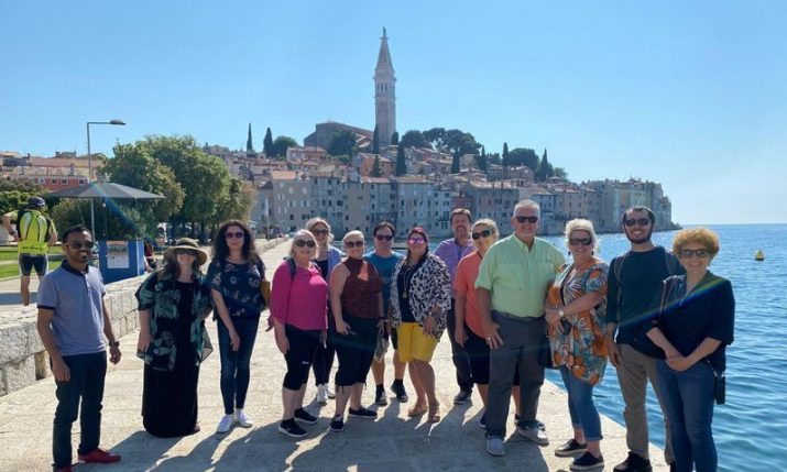 Leading travel agency reps from US state of Texas touring Croatia