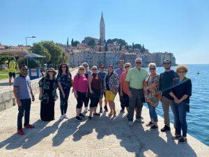 representatives from Texas travel agencies in Croatia