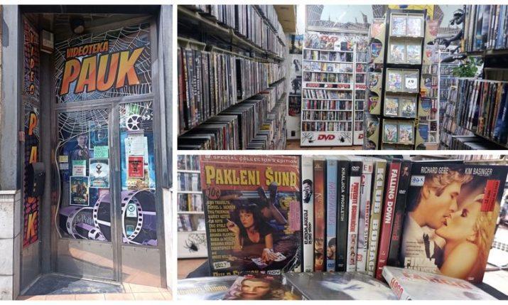 Videoteka Pauk: The last remaining video store in Zagreb