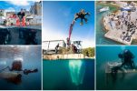 PHOTOS: Fifteen tonnes of waste pulled out from sea at Vis island