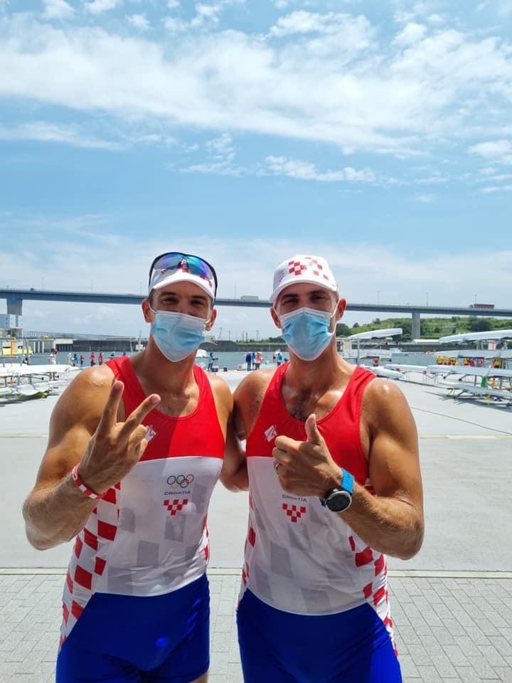 Sinković brothers win medal for Croatia