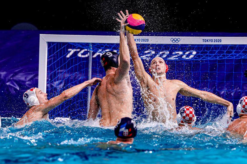 Croatia beats Serbia to secure quarterfinal in water polo