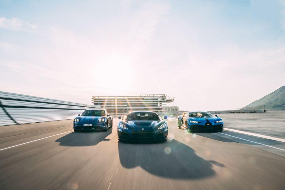 Bugatti merges with Croatia's Rimac in historic new venture