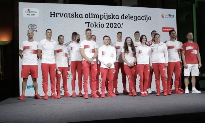 Olympics: Croatian contingent get traditional farewell
