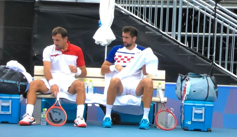 Čilić and Dodig storm into doubles final