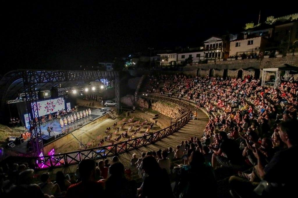 Croatia's LADO perfom in North Macedonia with TANEC