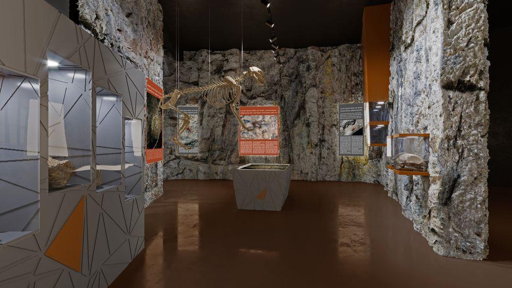 Impressive underground heritage visitor centre at Barać Caves being built