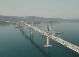 What will the Pelješac bridge be named?