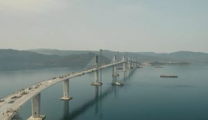 Pelješac bridge now connected as final segment installed