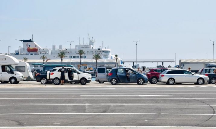 Record tourist arrivals this weekend at Split's airport and ferry port