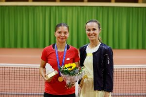 (Croatia's Antonia Ružić becomes European junior tennis champion