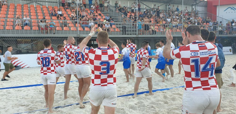 Croatia crowned European beach rugby champions
