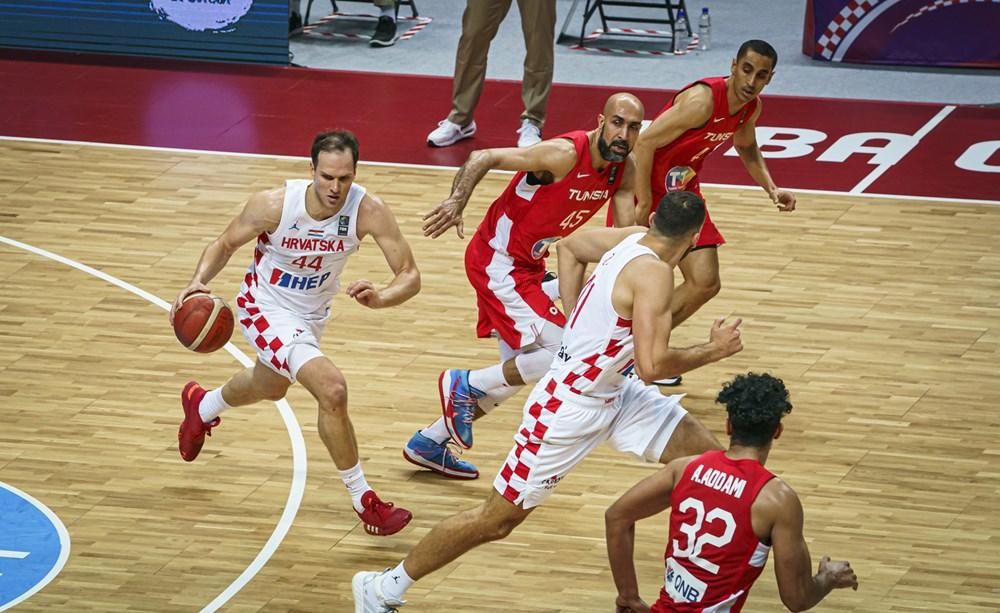 Olympic basketball qualifying: Croatia beats Tunisia to reach semi-finals