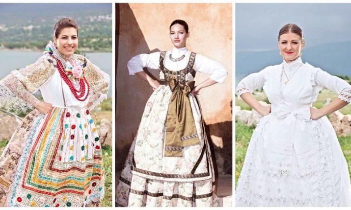 Most beautiful Croatian in folk costume abroad is crowned