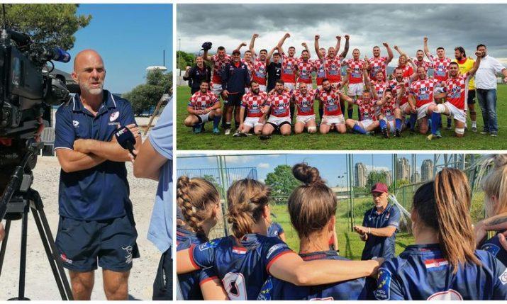 Meet Anthony Poša – the Croatian-Kiwi developing rugby talent in Croatia