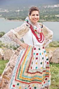 Most beautiful Croatian in folk costume outside Croatia is crowned