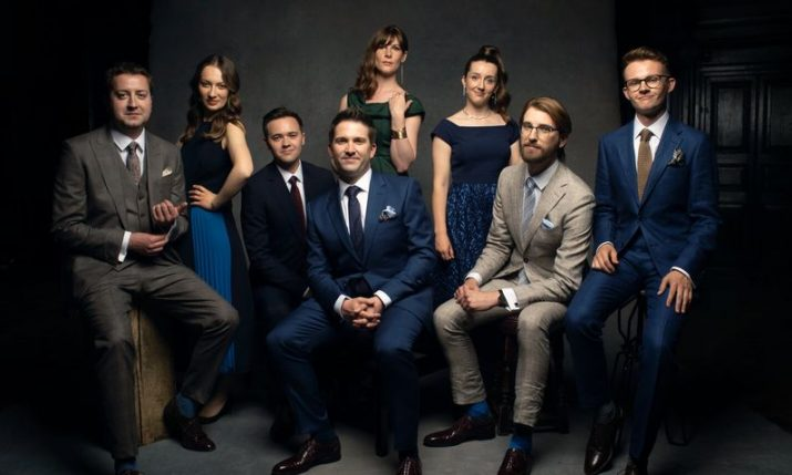 VOCES8 to perform in Zagreb for the first time