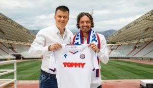 Hajduk Split sign former Benfica and West Bromwich Albion midfielder Filip Krovinovic