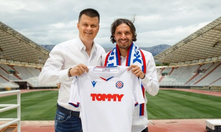Hajduk Split sign former Benfica and West Bromwich Albion midfielder