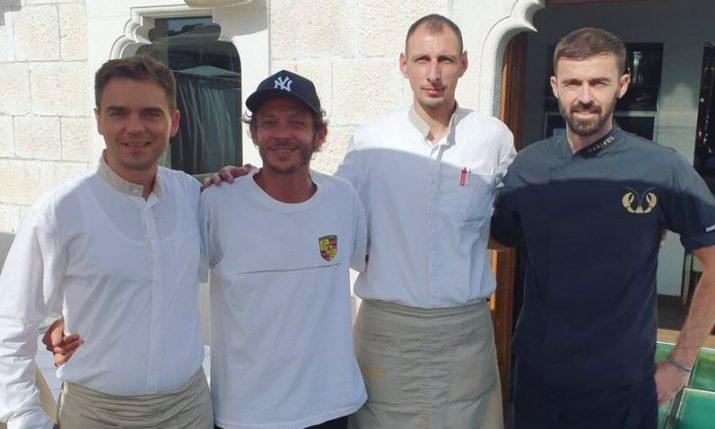 PHOTO: Valentino Rossi dines at popular Hvar restaurant