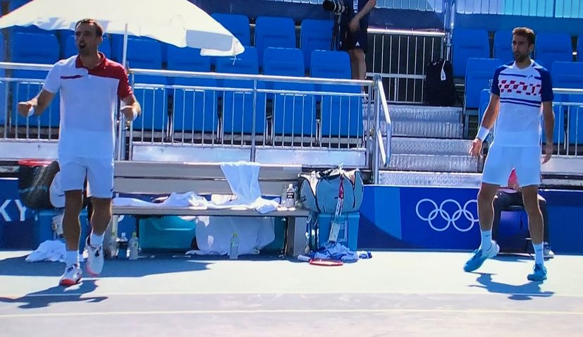 Olympics: Čilić and Dodig into tennis doubles semi-finals