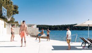Netherlands and Barcelona star enjoying post-Euro holiday in Croatia