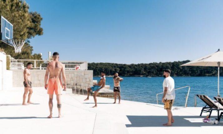 Netherlands star enjoying post-Euro holiday in Croatia