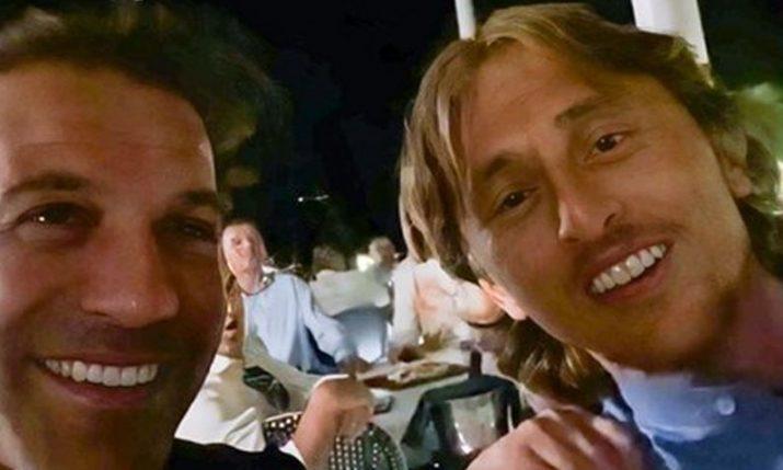 VIDEO: Modrić singing Croatian hit with Del Piero in Zadar