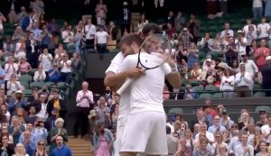 Nikola Mektić (32) and Mate Pavić (28) win Wimbledon men's doubles title