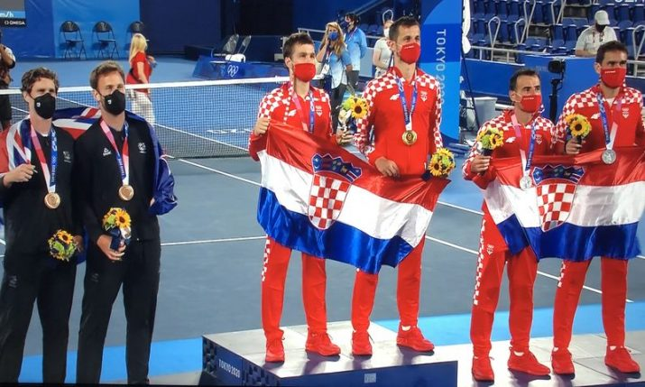 """History for Croatian tennis: """"It was weird to play this final"""""""
