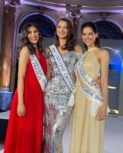 20-year-old Ora Antonia Ivanišević crowned Miss Universe Croatia 2021