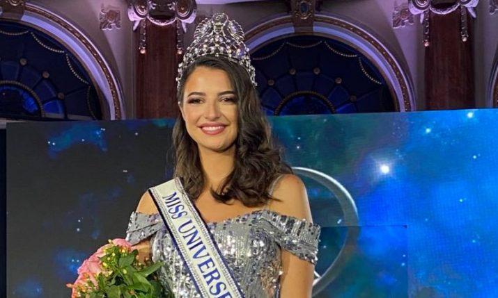 Ora Antonia Ivanišević from Dubrovnik crowned Miss Universe Croatia 2021