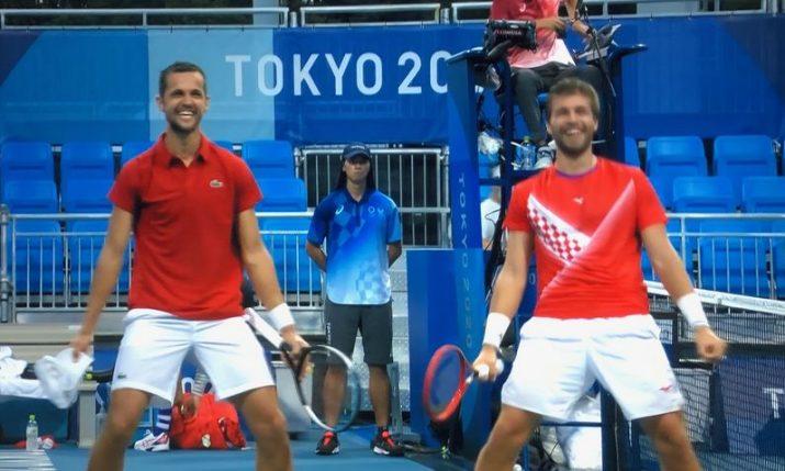 Olympics: Mektić and Pavić set up historic all Croatian doubles final