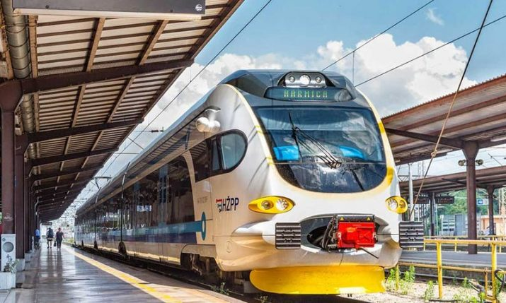 New 160 km/h Končar electric train connecting Rijeka launched