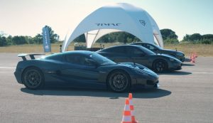 Rimac Nevera takes on Porsche Taycan and BMW M5 in drag race